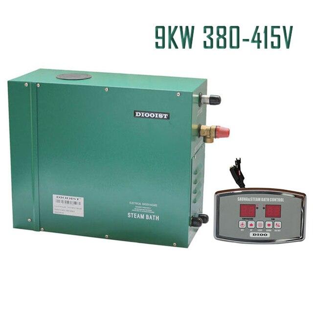 9kw380 415v 50 Hz Generatore Di Vapore Per Sauna A Casa Doccia Spa