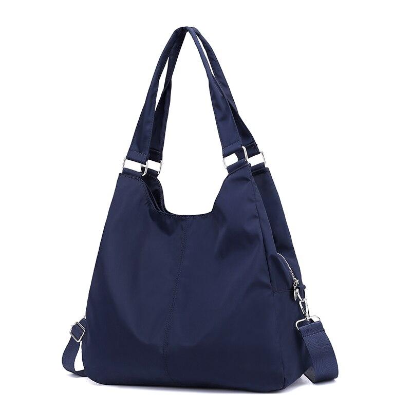 Fashion Big Capacity Women Nylon Handbag Purse Travel Beach Tote Bag Waterproof