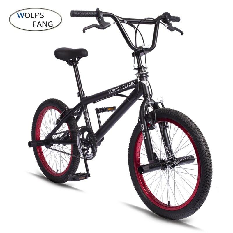 BMX 20 pouce BMX vélo en acier cadre Performance Vélo violet/rouge pneu vélo pour le spectacle Stunt Acrobatique Vélo arrière fantaisie rue vélo