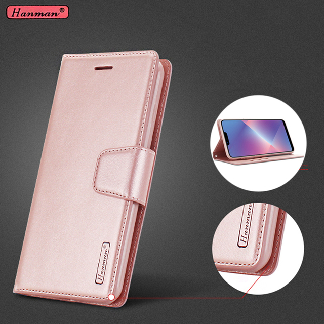 best sneakers e574b dd9b0 US $5.99 |For OPPO A3S / OPPO AX5 / OPPO A5 Case Original Hanman Leather  Wallet Flip Cover sFor OPPO A3S AX5 PADM00 Phone Bags Cases Coque-in Flip  ...