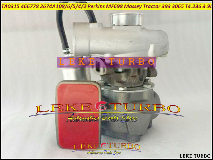 TA0315 466778 466778-0004 2674A108 Turbo For Perkin MF698 For Massey Tractor 393 398 3065 3070 T4.236 AT4.236 3.9L Turbocharger