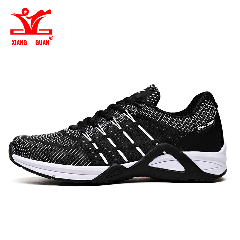 2017 XIANG GUAN Running Shoes Men Mesh Breathable Athletic Shoe Ladies LightWeight Outdoor Women Lovers Sneaker AntiSlip Size 36 2017brand sport mesh men running shoes athletic sneakers air breath increased within zapatillas deportivas trainers couple shoes