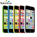 Original Unlocked iPhone 5C iOS Dual Core 16GB/32GB 8MP Camera 4.0 inches WIFI GPS 3G Cell Phone