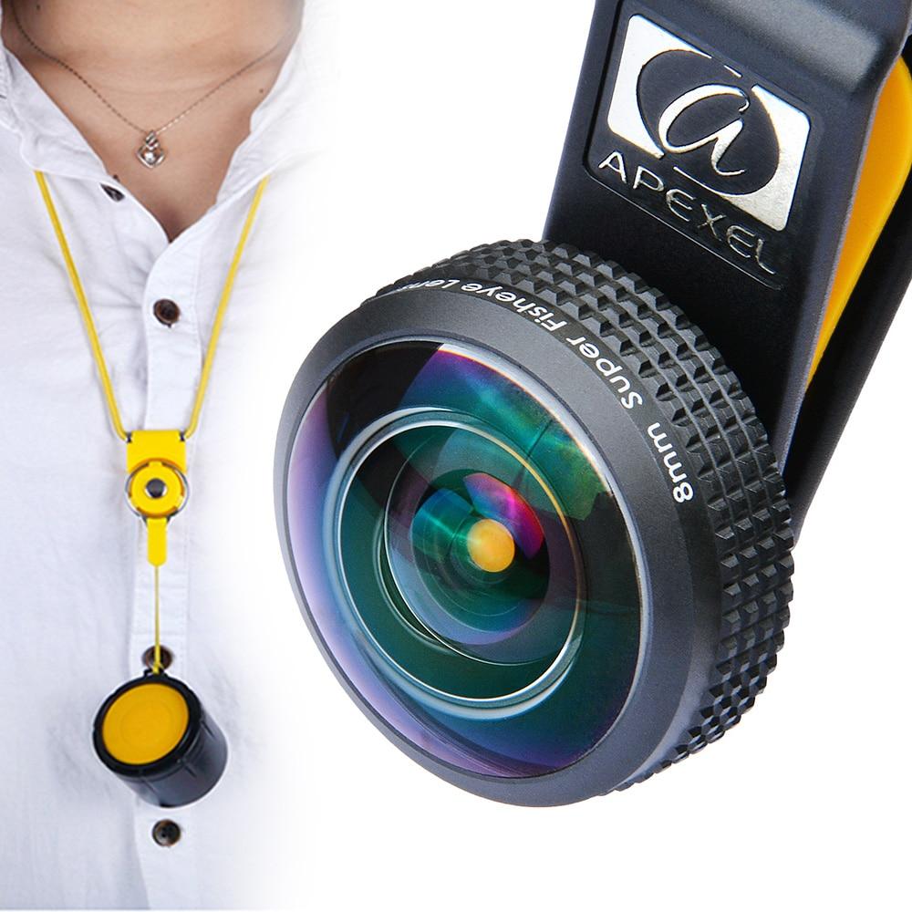 8MM 238 Degree Super Fisheye Lens ,APEXEL Full Frame s