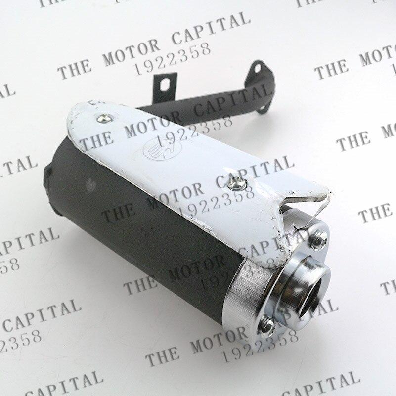 good quality 38mm Universal Motorcycle Exhaust Pipe Muffler for 50cc 110cc 125cc 140cc Dirt Pit Quad