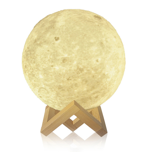 Rechargeable Touch Sensor Moon Lamp