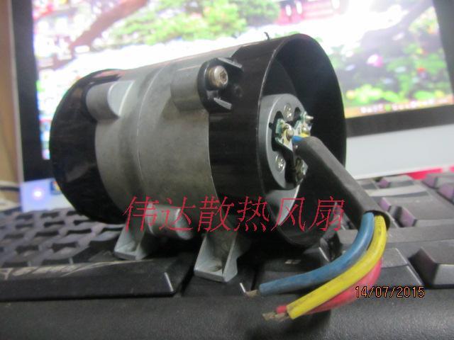 12 В 16.5A 10 см толщиной линии модификации автомобиля сильный вентилятор мощных электрических турбокомпрессор