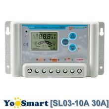 PowMr 30A 60V/48V/36V Solar Charge Controller For Lithium Battery Lead Acid Panel Regulator with LCD USB