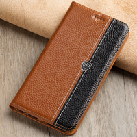 For ZTE Nubia Z17 Z17S Case Flip Stand Magnetic Cover Genuine Leather Phone Bag For ZTE