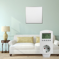 360 watt Infrarot Flächenheizung Digitaler Plug Thermostat Gesteuert Zimmer Infrarotstrahlung Heizung