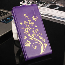 Retro PU Leather Case Cover For Lenovo A328 A 328 A328T Cell Phone Case Open down/up A328 Vertical Flip Back Cover