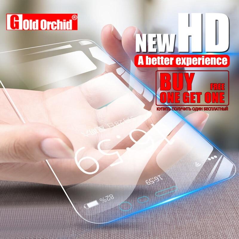 Купить получить один бесплатный Стекло для huawei P20 lite Pro закаленное Стекло для huawei P8 lite 2017 P9 P10 lite плюс Экран протектор фильм
