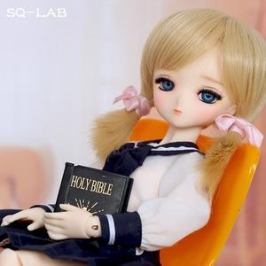 Image 1 - OUENEIFS SQ Lab Chibi Tsubaki 31cm 1/6 BJD SD Resin Model Baby Girls Boys Dolls Eyes High Quality Toys Shop Figures Gifts