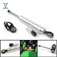 Motorcycles Steering Stabilize Damper Bracket Mount Kits For Yamaha YZF R1 1998 1999 2000 2001 Steering Support Moto Parts