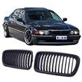 Nova Matte Black Rim Grades Grade Dianteira Para BMW E38 4D Sedan 1995-2001 Todos Os Modelos #9226