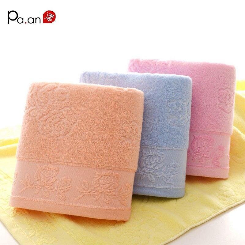 Rosa adulto baño towel cero torsión rosas patrón jacquard rectangle beach towel