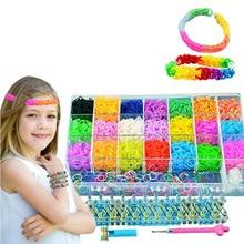 Новинка, детские игрушки, резинка, сделай сам, браслет ручной работы, тканая 400х резинка, Детские Подарочные игрушки