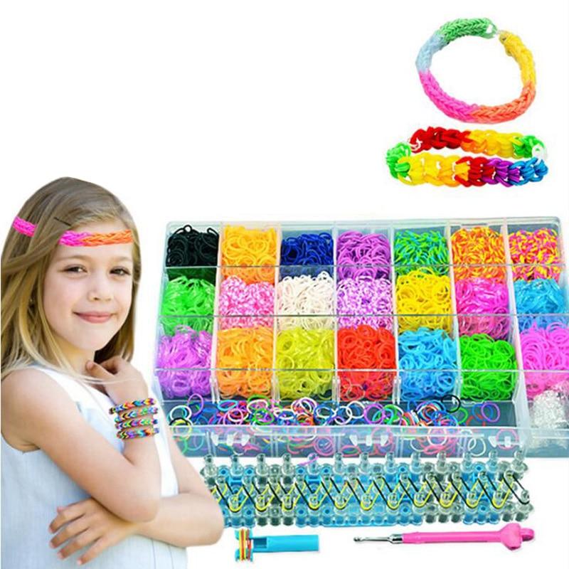 New Children's Toys Rubber Band Diy Handmade Bracelet Woven 400x Rubber Band Children's Gift Toys