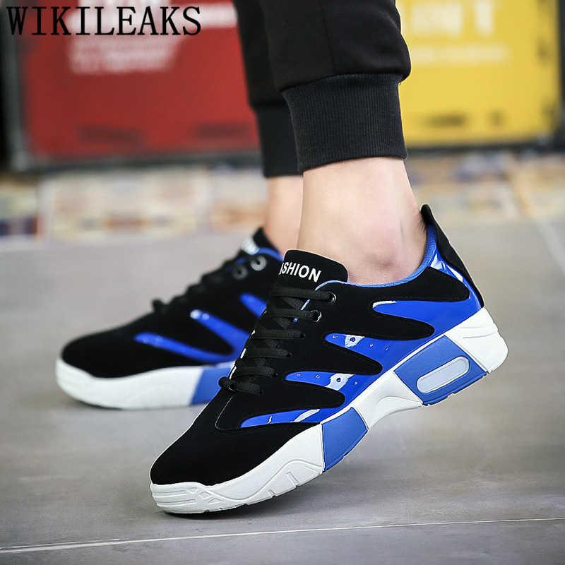 Mocasines hombre zapatillas de diseñador para hombres de marca de lujo hombres zapatos casual de lujo negro zapatillas transpirables tenis masculino