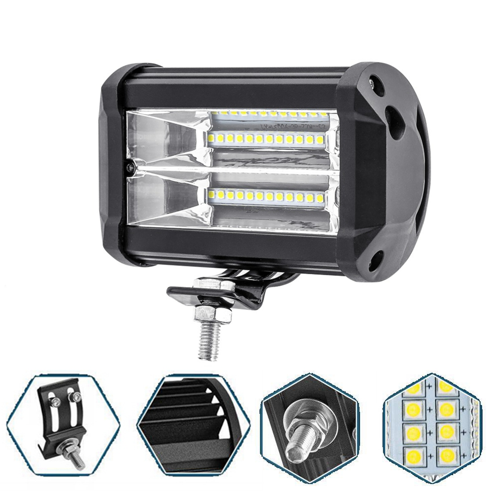 LED Work Light Offroad Tractor Truck 4x4 SUV ATV Motorcycle Headlight Fog font b Lamps b