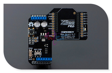 new DFRobot Xbee Shield/ RF Wireless Module Expansion Board, support Zigbee/Bluetooth/WIFI BEE all Xbee Compatible with arduino