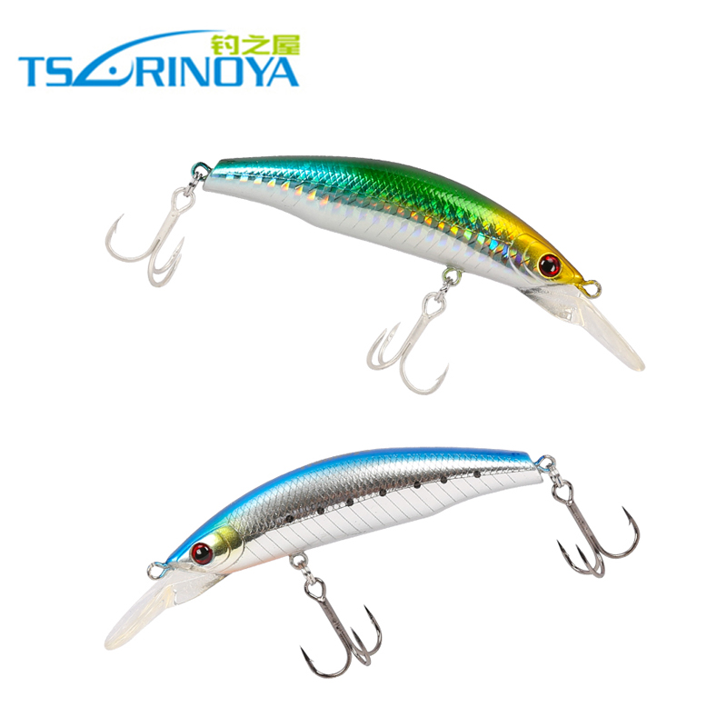 Trulinoya 105mm 17g 4pcs/lot Minnow Fishing Lures Hard Lure Sinking Fishing Bait France VMC Hook Hard Fishing Lures Minnow wldslure 1pc 54g minnow sea fishing crankbait bass hard bait tuna lures wobbler trolling lure treble hook
