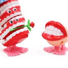 5 шт., игрушки, креативный стоматологический подарок, весенние пластиковые игрушки, зубные прыжки, зубные зубы, цепь для детей, стоматологические игрушки, подарок