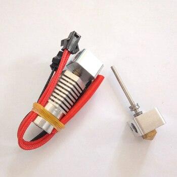 Funssor 1,75 MM de alta temperatura hexagonal AO 3D impresora de Metal salida Hotend boquilla de 0,4 MM para DIY Lulzbot 3 D impresora