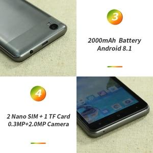 Image 4 - OUKITEL C10 5 18:9 Display 3G Smartphone 1GB RAM 8GB ROM MTK6580 Quad Core 1.3GHz Dual SIM 2000mAh Android 8.1 Mobile Phone