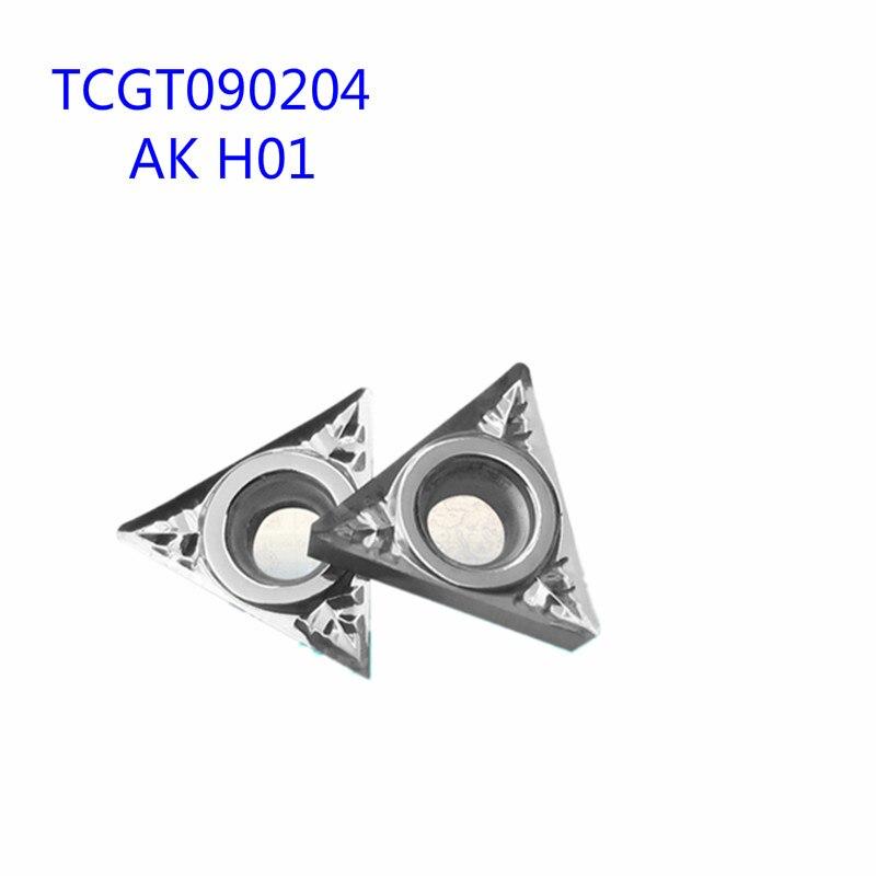 AK TCGT090204 H01Aluminum lâmina do cortador Insert Ferramenta De Corte ferramenta de tornear CNC Ferramentas AL + ESTANHO Liga de madeira