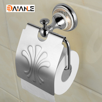 Paper Holders Wall Mounted Bathroom Toilet Antique Brass and ceramic Roll Tissue Box Wholesale And Retail