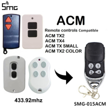 ACM Replacement Remote Control Garage Gate key Fob compatible ACM TX2 TX4 TX SMALL 433.92mhz remote garage command rolling code