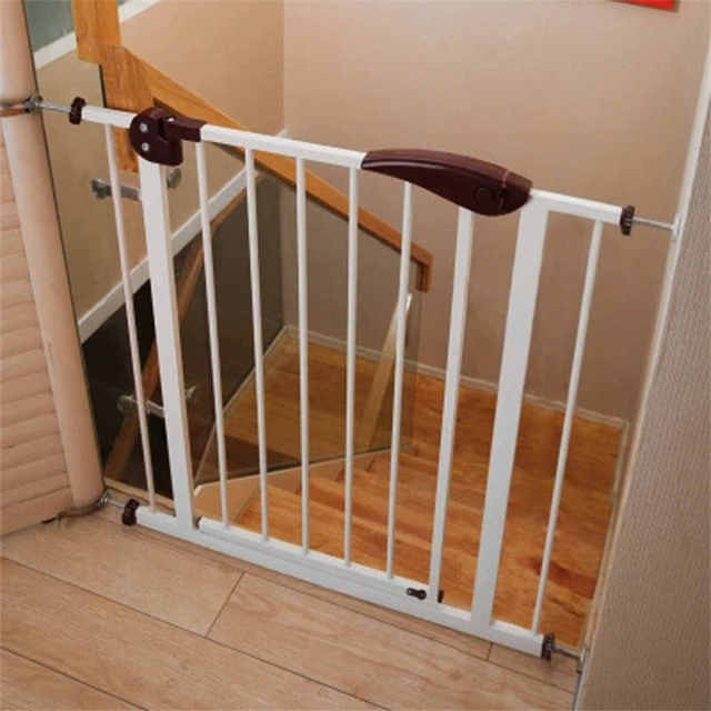 Pet Supplies Dog Fences Plastic Puppy Fences Pet Safety Isolation Door  Children Stairs Protect Railing 2