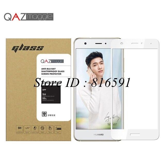 Huawei Nova закаленное Стекло 5.0 дюймов 0.26 мм 2.5D полное покрытие Экран протектор для Huawei Nova защитный Плёнки