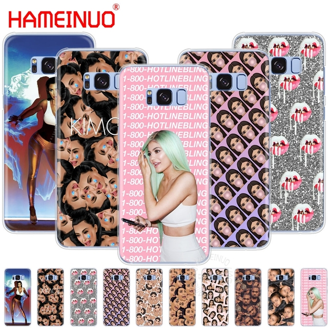 sports shoes 8333c cc634 kanye west kim kardashian kimoji KYLIE JENNER cell phone case cover for  Samsung Galaxy S9 S7 edge PLUS S8 S6 S5 S4 S3 MINI