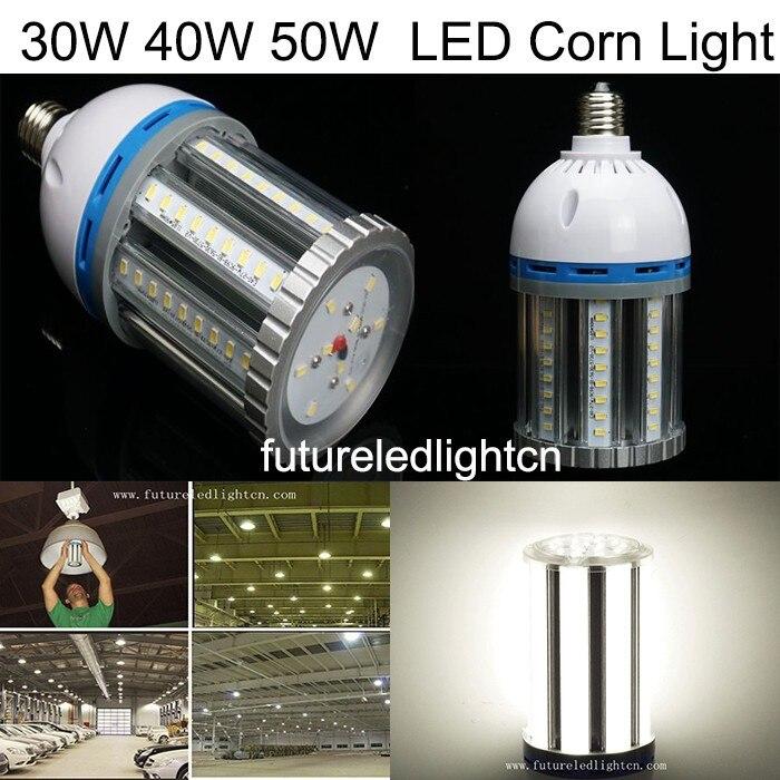 30 W/40 W/50 W/60 W E27 E40 SMD5730 ampoule de maïs LED lumière de maïs LED lampes Buld garanties 100%