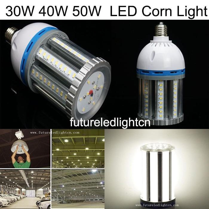 30W/40W/50W/60W E27 E40 SMD5730 Corn Bulb LED Corn Light LED Buld Lamps Guaranteed 100%