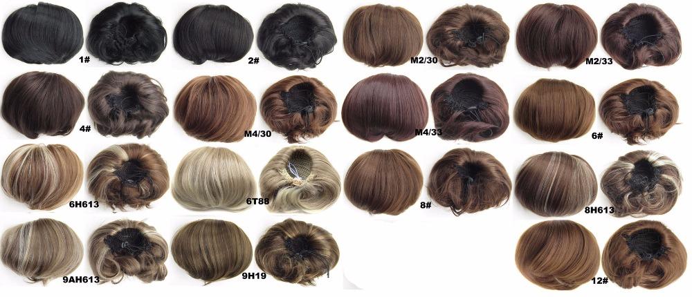 beaut synthtique cheveux chignon synthtique donut rouleau postiche synthtique postiche chignon chignon postiches chignon vente chaude - Postiche Chignon Mariage