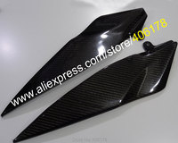 Hot Sales,2 x Carbon Fiber Tank Side Covers Panels Fairing Cowl For Yamaha YZF R1 2007 2008 YZF R1 07 08 Tank Side Cover Panel