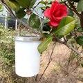 3 pçs/set DIODO EMISSOR de Luz Solar Portátil Pendurado Lanterna de Jardim Ao Ar Livre Lâmpadas Downlights LEVOU Luzes Da Noite de Plástico