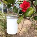 3 unids/set Colgando Linterna Solar Portátil De Luz LED Lámparas de Jardín De Plástico Al Aire Libre Focos LED Luces de La Noche