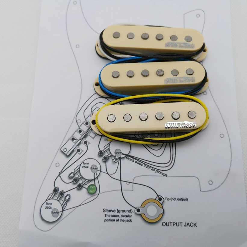 Wilkinson WVS Single coil Alnico5 Pickups St Style Eleciric Guitar Pickups  Yellow 1 set + Welding circuit diagram|Guitar Parts & Accessories| -  AliExpress | Wilkinson Pickups Wiring Diagram |  | AliExpress