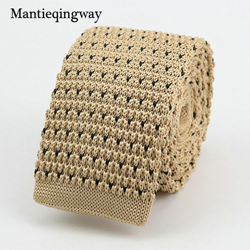 Mantieqingway Nieuwe Gebreide Stropdassen voor Mannen Business Casual - Kledingaccessoires - Foto 1