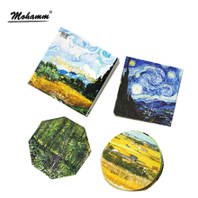 45 Pcs/lot Cute Van Gogh Oil Painting Mini Paper Sticker Decoration Diy Ablum Diary Scrapbooking Label Sticker Kawaii Stationery