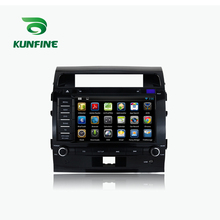 KUNFINE Android 7.1 Quad Core 2GB Car DVD GPS Navigation Player Car Stereo for Land Cruiser 200 2008-2012 Radio headunit WIFI