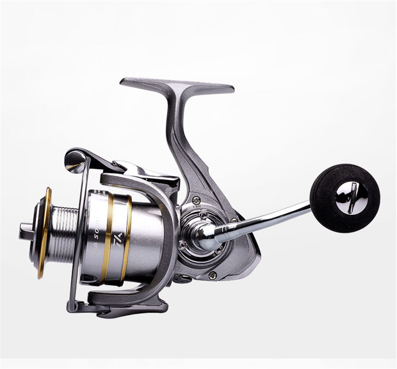 High-Quality Fishing Reel With Non-Slip Bottom And Metal Spool For Saltwater 22