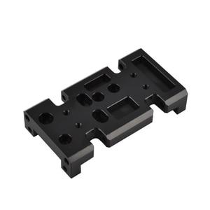 Image 1 - 1/10 RC מתכת תיבת הילוכים העברת מקרה הר מחזיק עבור צירי SCX10 D90 D110