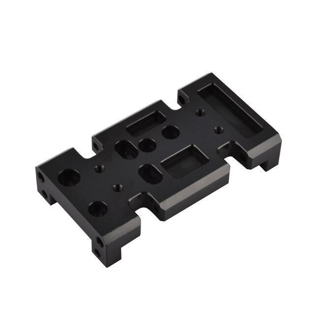 1/10 RC מתכת תיבת הילוכים העברת מקרה הר מחזיק עבור צירי SCX10 D90 D110