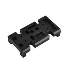 1/10 RC металлический чехол для коробки передач держатель для осевого SCX10 D90 D110