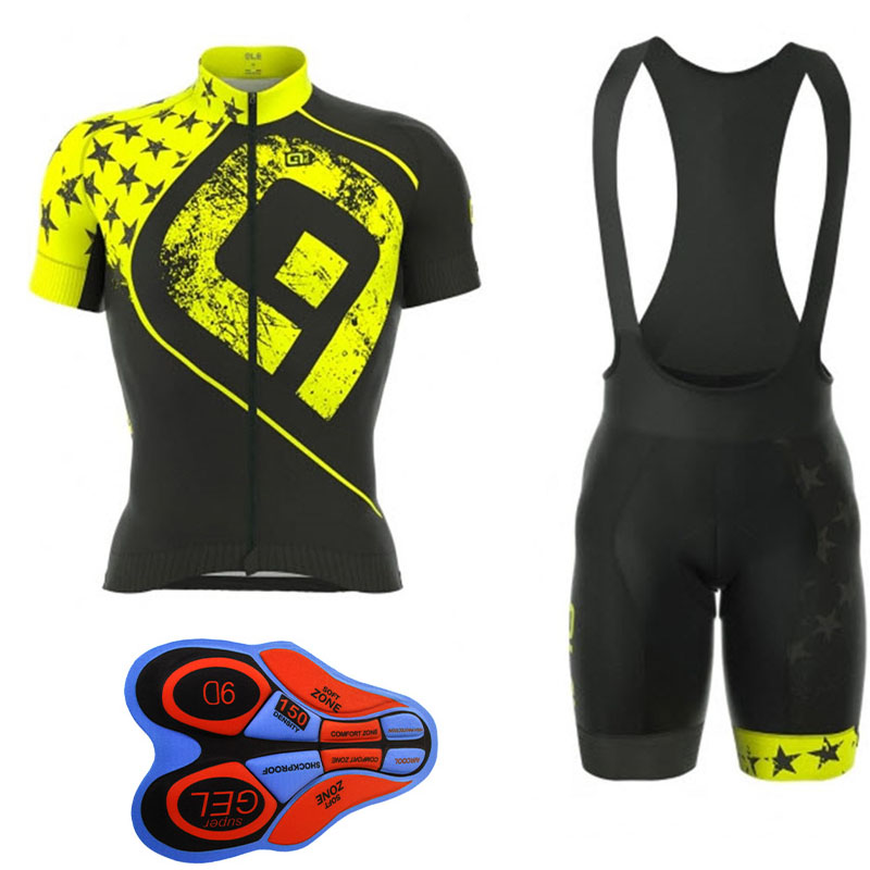 GLE 2018 Summer Short Sleeve Cycling Set Men s Mountain Bike Clothing  Breathable Bicycle Jersey Clothes Maillot Ropa Ciclismo-in Cycling Sets  from Sports ... 2ddfb500c